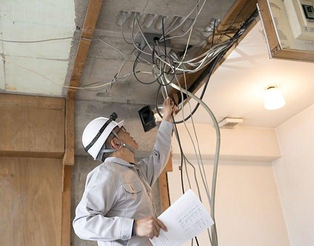 maintenance de système électrique résidentiel